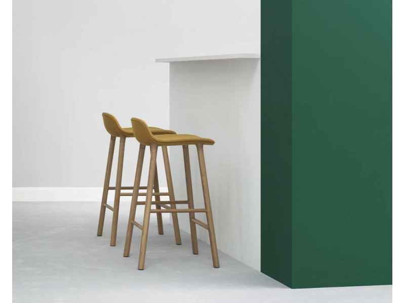Form Upholstered Stool - Normann Copenhagen Seating